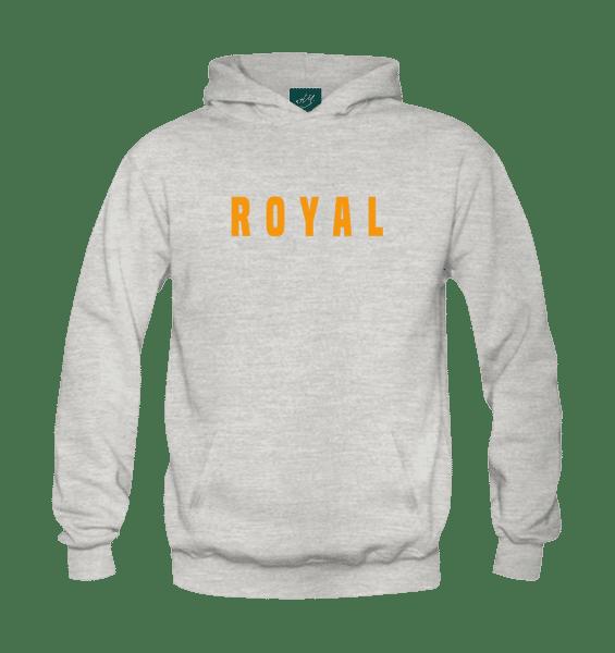 Royal Hoodie-Grey