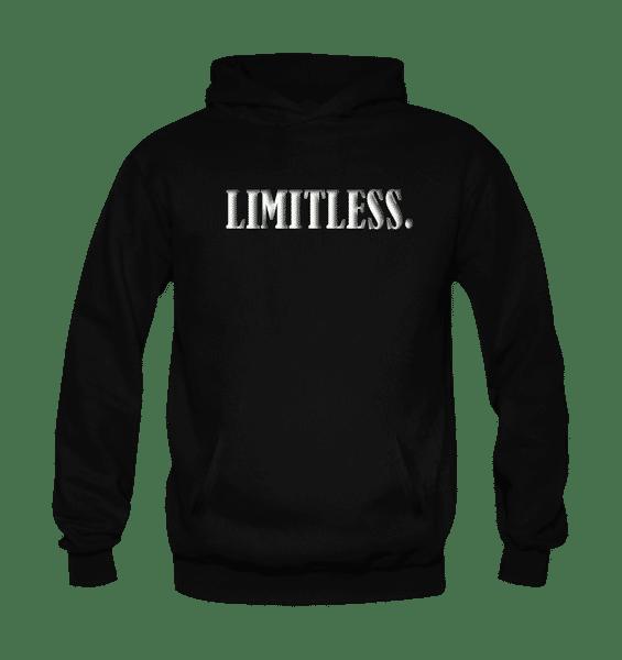 Limitless Hoodie-Black