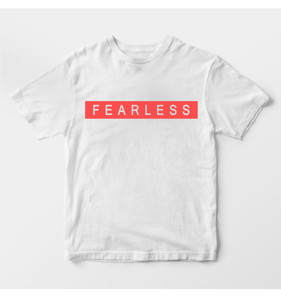 Fearless White t-shirt