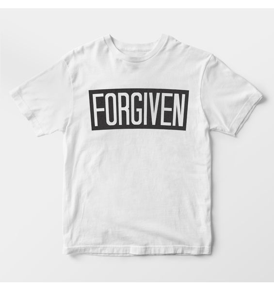 Forgiven White t-shirt