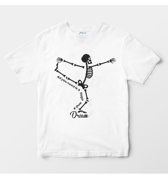 Yoga & Dream Skeleton Tee
