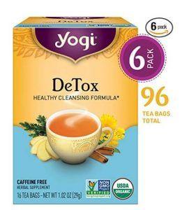 Yogi Detox Healthy Cleansing Formula