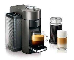 Nespresso Vertuo Evoluo Coffee and Espresso Machine with Aeroccino by De'Longhi