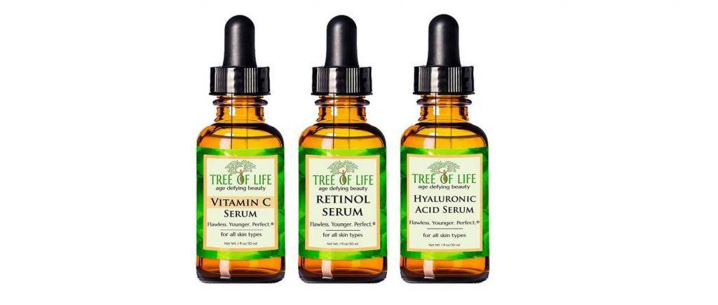 Tree of Life anti-aging serum 3-pack