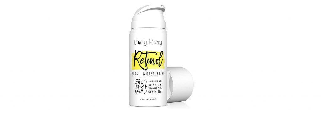 Body Merry surge retinol moisturizer