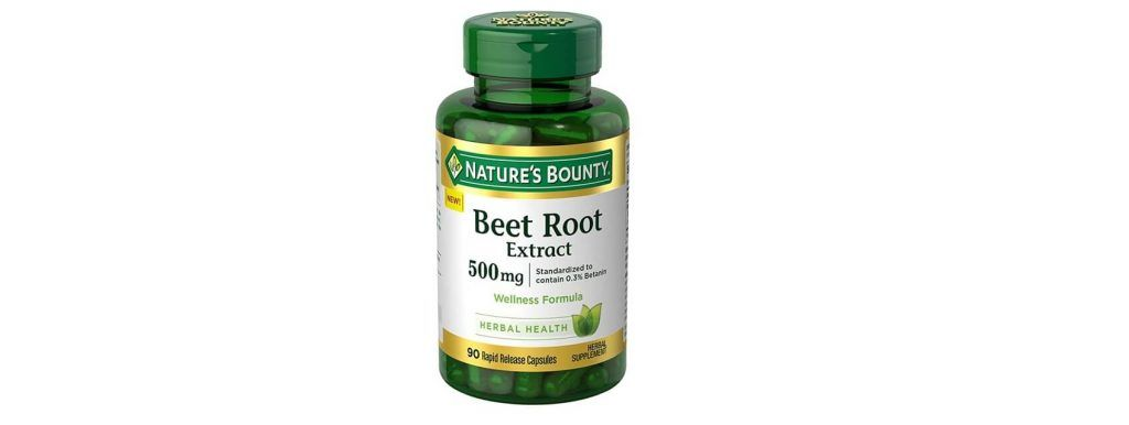 Nature's bounty beet root extract