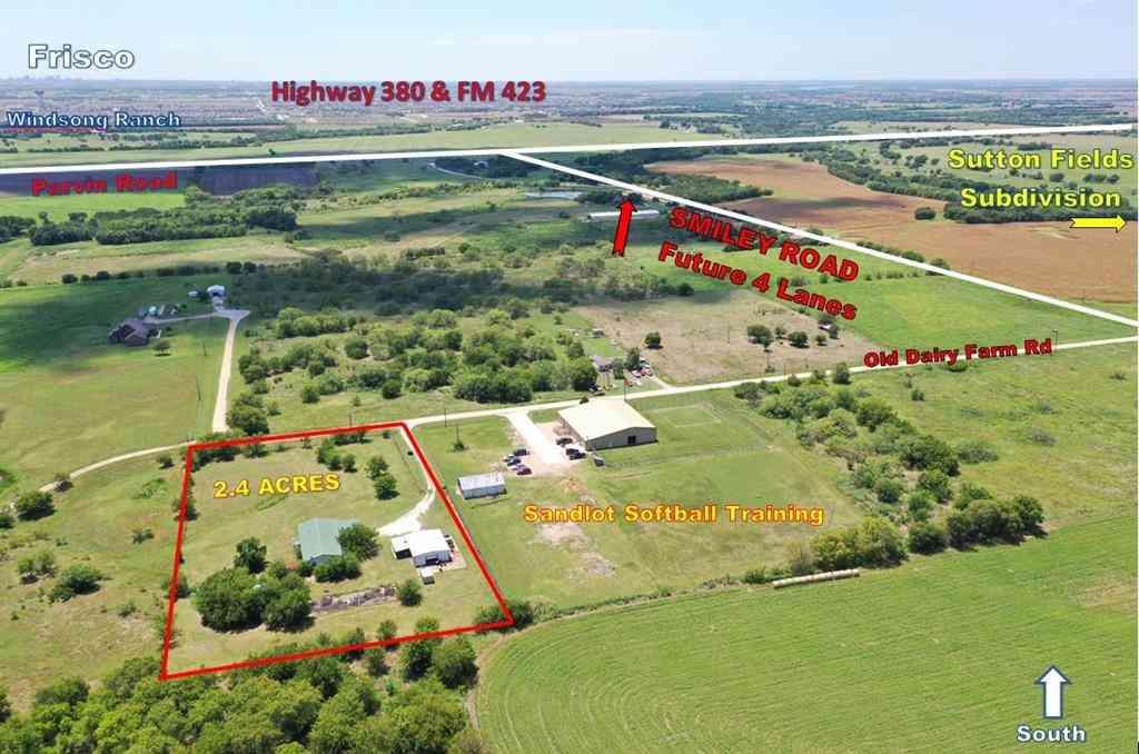 15841 Old Dairy Farm Road, Prosper, TX, 75078,