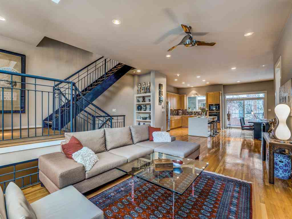 Living Room, 4227 Rawlins Street #3, Dallas, TX, 75219,