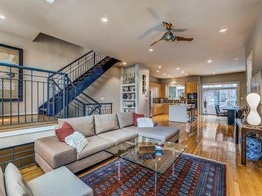 Living Room, 4227 Rawlins Street #3, Dallas, TX, 75219,