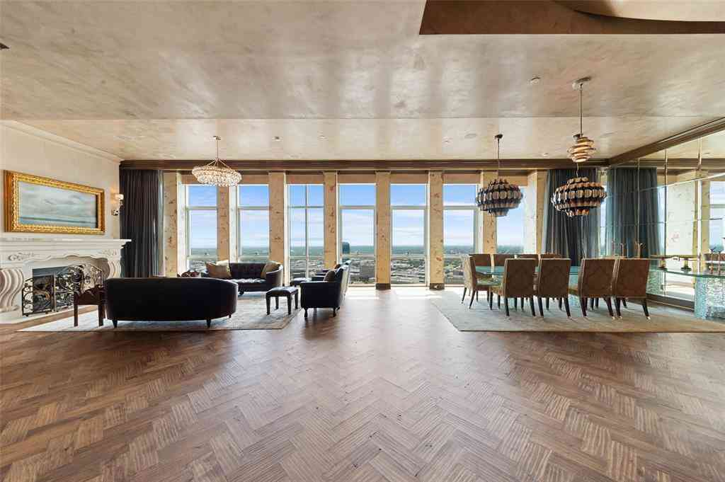 Living Room, 500 Throckmorton Street #3602, Fort Worth, TX, 76102,