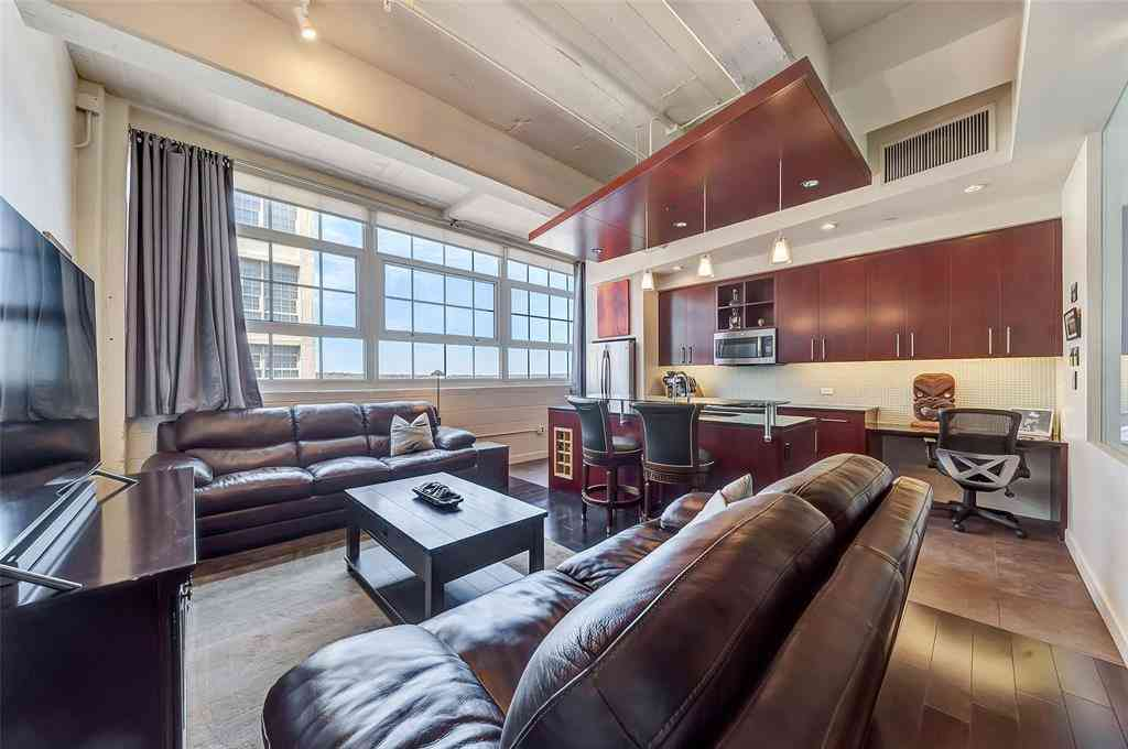 Living Room, 2600 W 7th Street #2620, Fort Worth, TX, 76107,