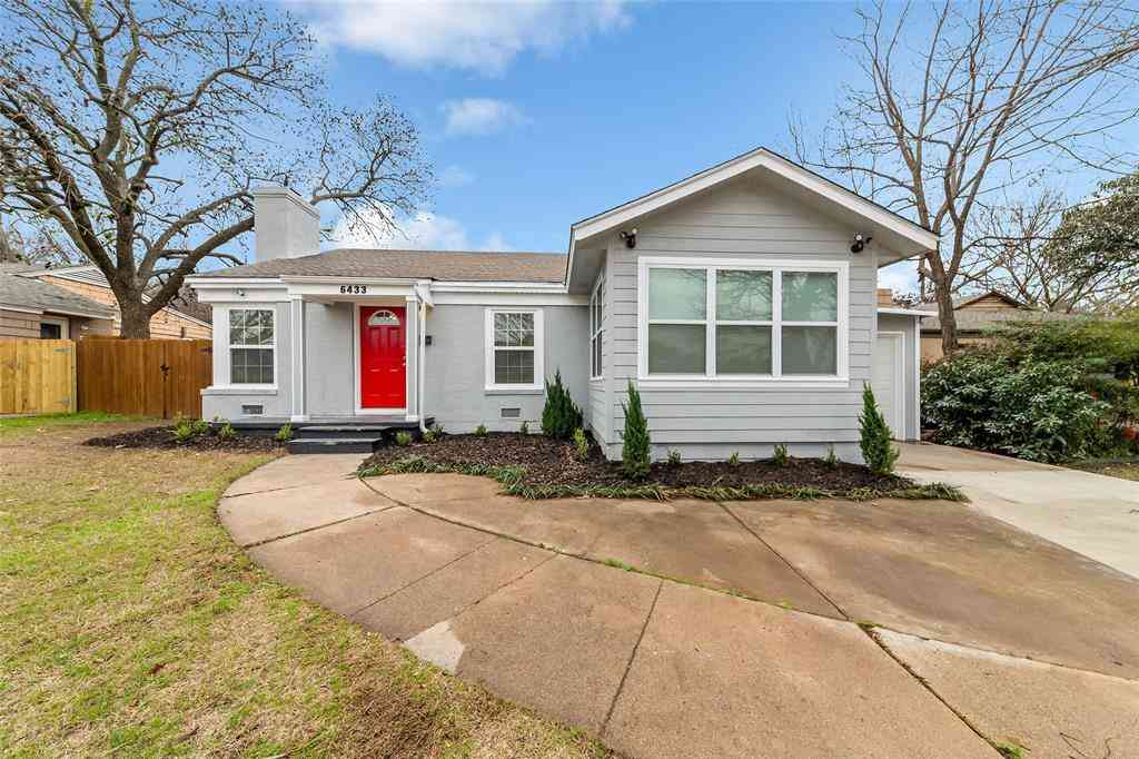 6433 Calmont Avenue, Fort Worth, TX, 76116,