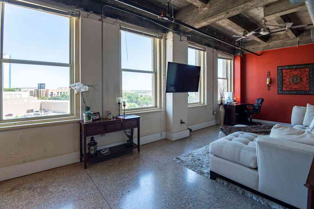 Living Room, 221 W Lancaster Avenue #4004, Fort Worth, TX, 76102,