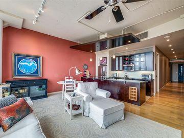 Sunny Living Room, 2600 W 7th Street #2400, Fort Worth, TX, 76107,