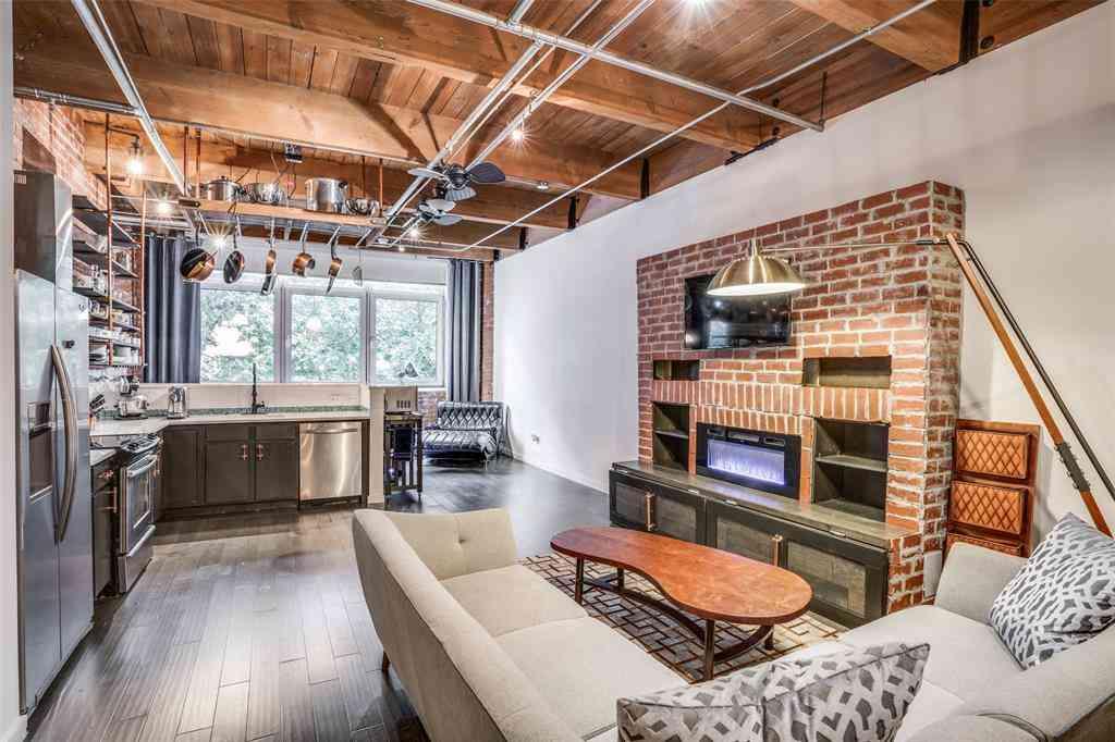 Kitchen, 509 Elm Street #202, Dallas, TX, 75202,