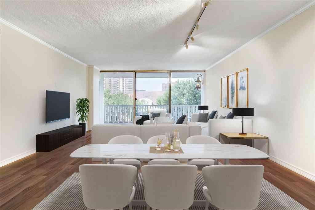 Sunny Living Room, 3701 Turtle Creek Boulevard #4BF, Dallas, TX, 75219,