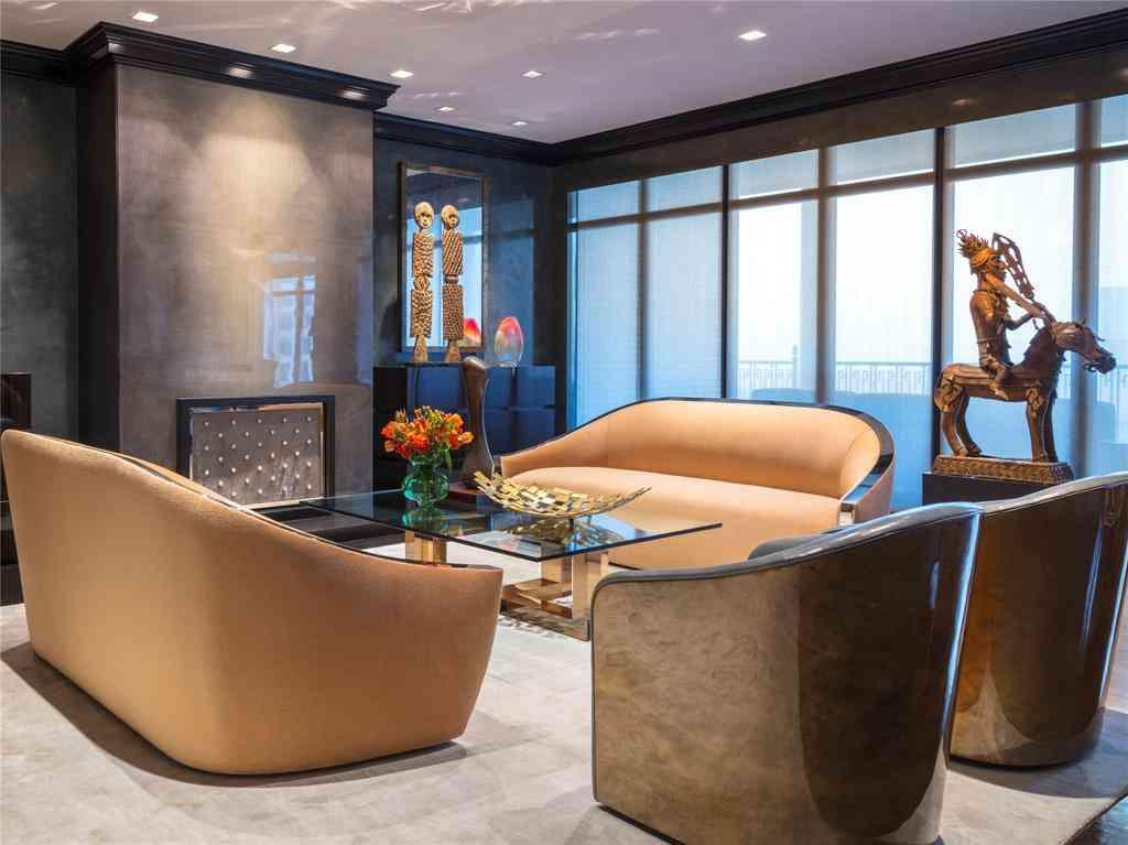 Sunny Living Room, 2525 N Pearl Street #1202, Dallas, TX, 75201,