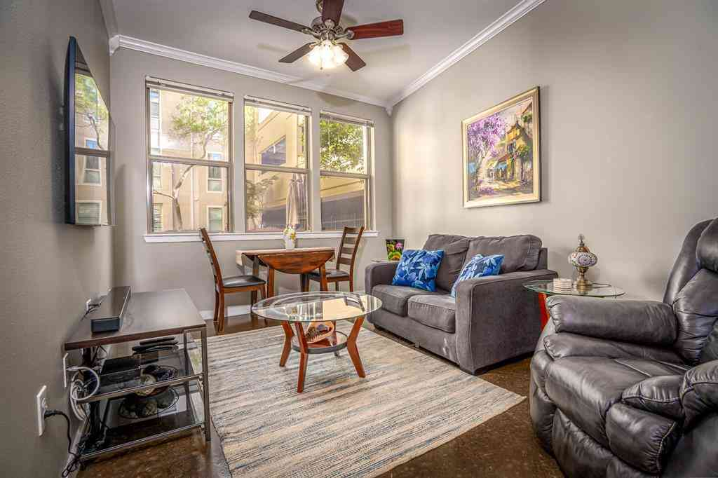 Sunny Living Room, 201 W Lancaster Avenue #112, Fort Worth, TX, 76102,