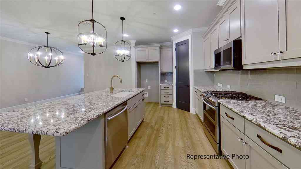 Kitchen, 303 Sunset Lane #103, Fort Worth, TX, 76114,