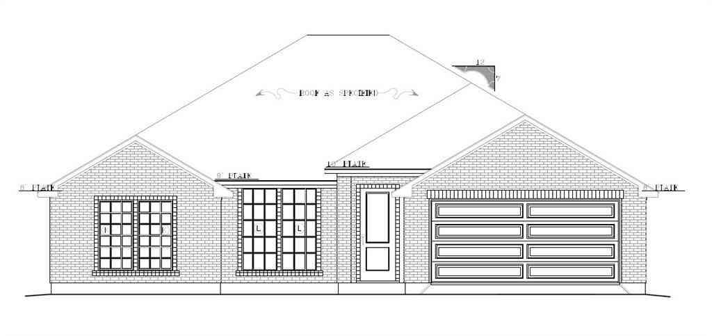 Floor Plan, 6825 Fire Dance Drive, Benbrook, TX, 76126,