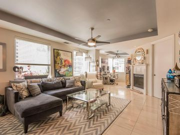 Sunny Living Room, 1505 Elm Street #802, Dallas, TX, 75201,