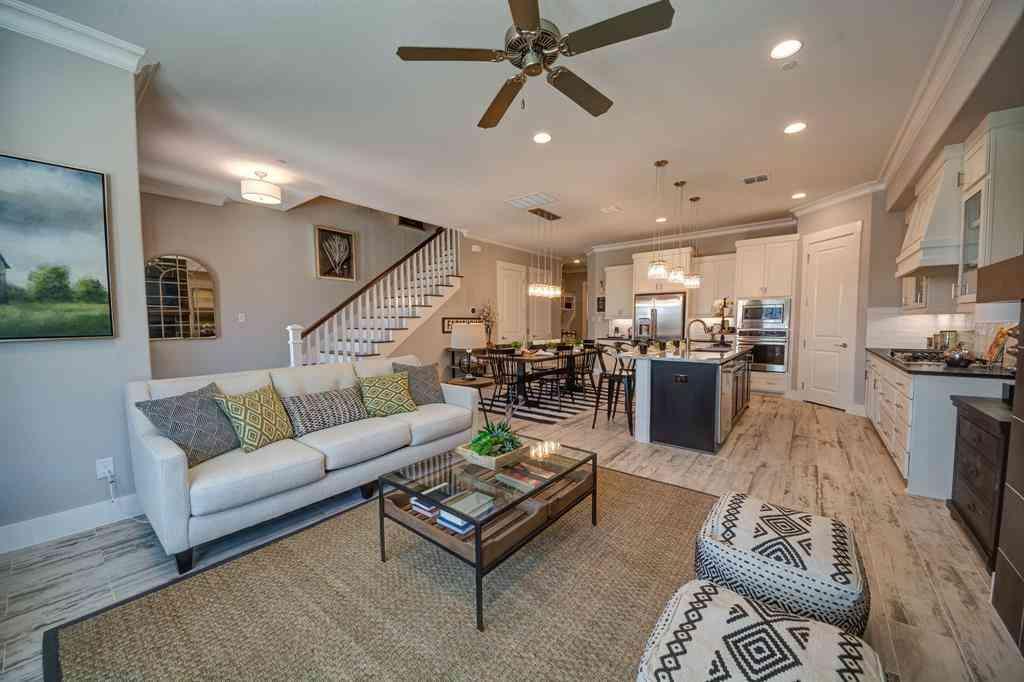 Sunny Living Room, 244 Crockett Street, Roanoke, TX, 76262,