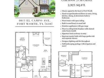 6013 El Campo, Fort Worth, TX, 76107,