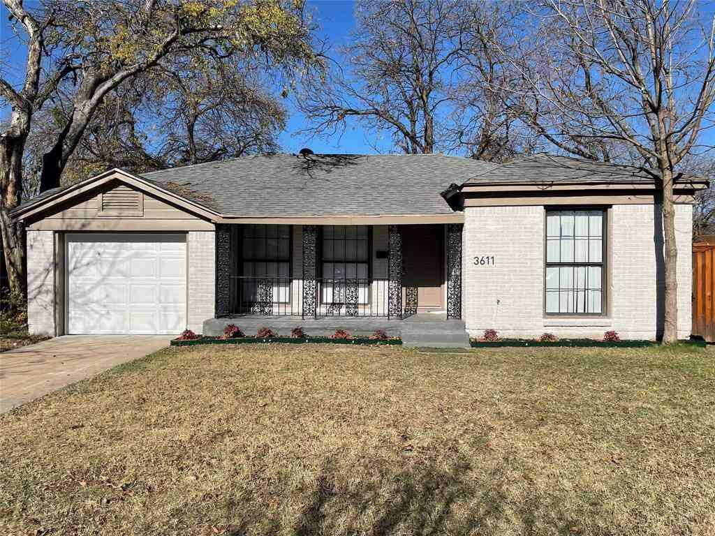 3611 Durango Drive, Dallas, TX, 75220,
