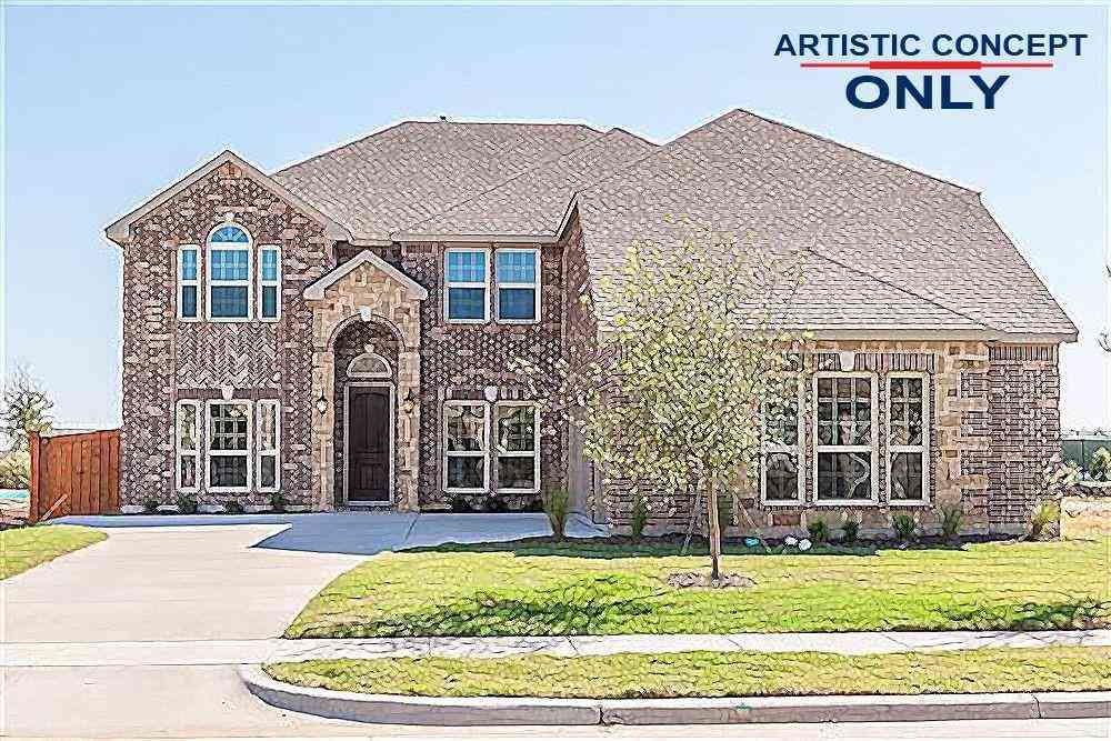 Floor Plan, 4137 Rancho Milagro Dr Drive, Fort Worth, TX, 76179,