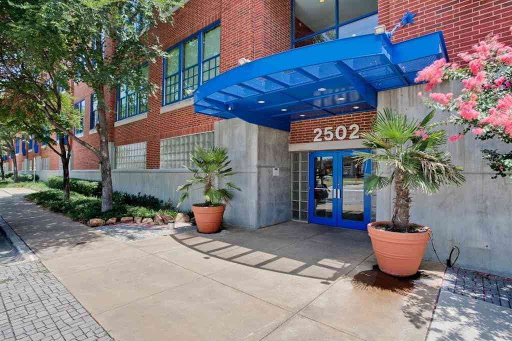2502 Live Oak Street #107, Dallas, TX, 75204,
