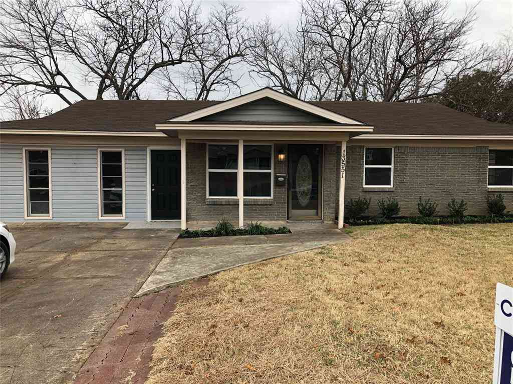 13551 Purple Sage Road, Dallas, TX, 75240,