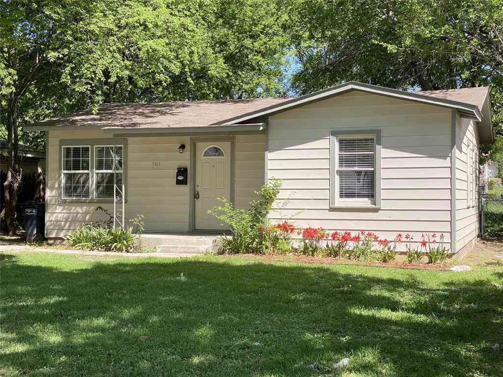 5412 Goodman Avenue, Fort Worth, TX, 76107,