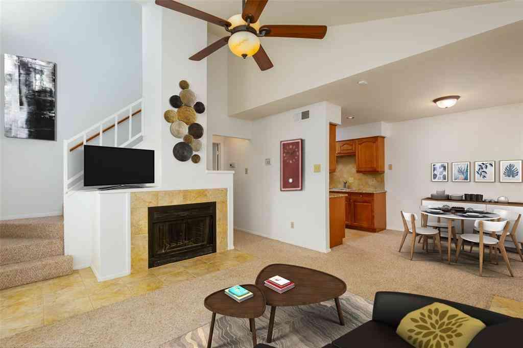 Sunny Living Room, 5716 Cedar Creek Drive, Benbrook, TX, 76109,