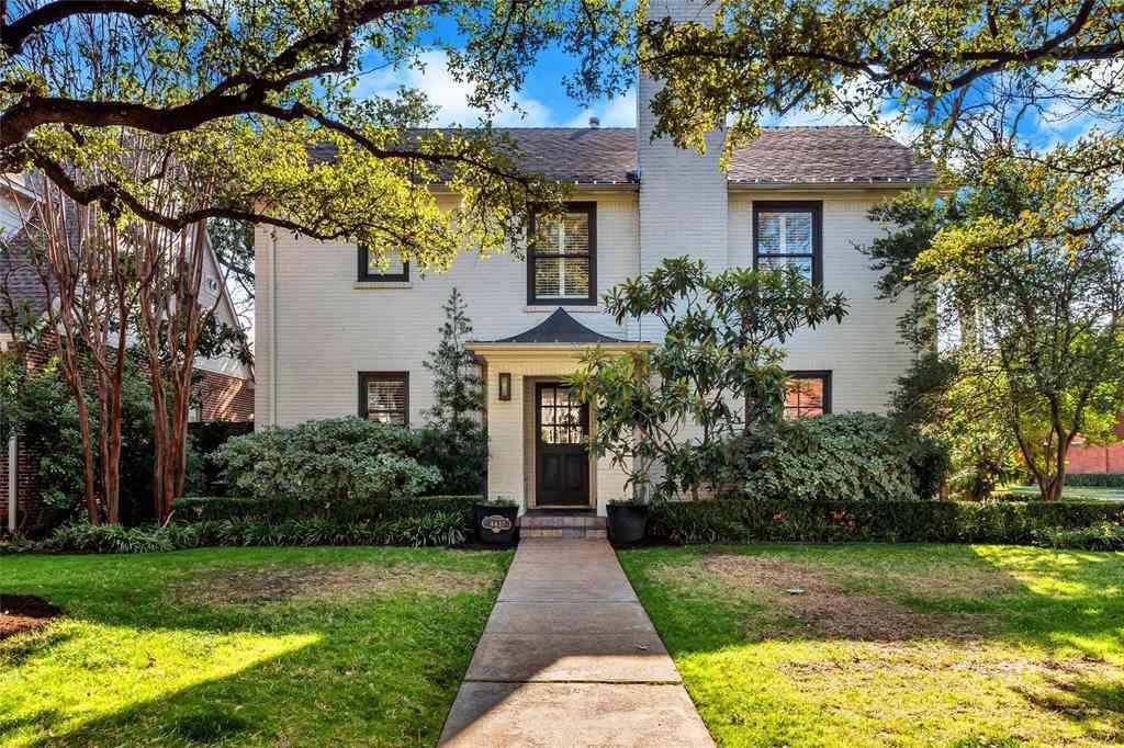 4437 Glenwick Lane, University Park, TX, 75205,