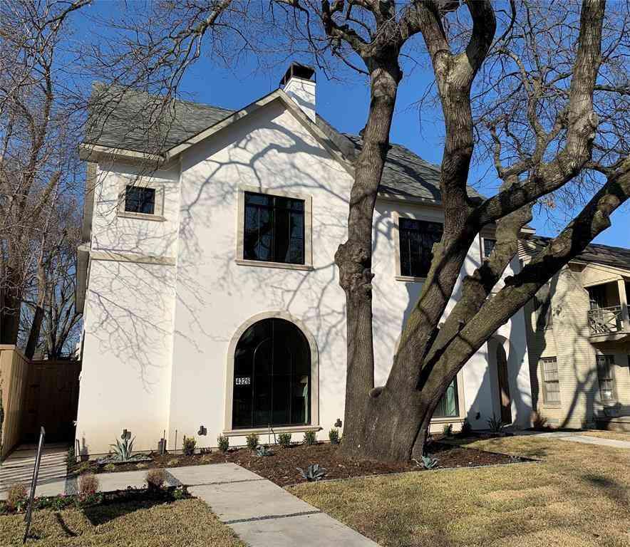 4326 GLENWICK Lane, University Park, TX, 75205,