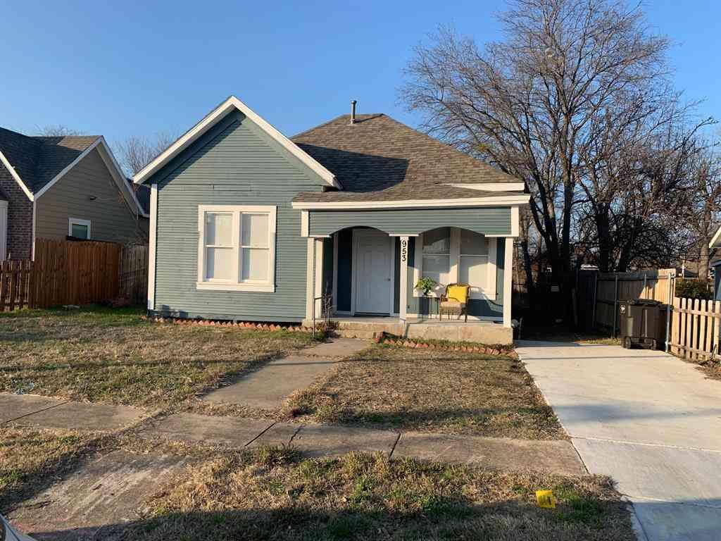 953 E Humbolt Street, Fort Worth, TX, 76104,