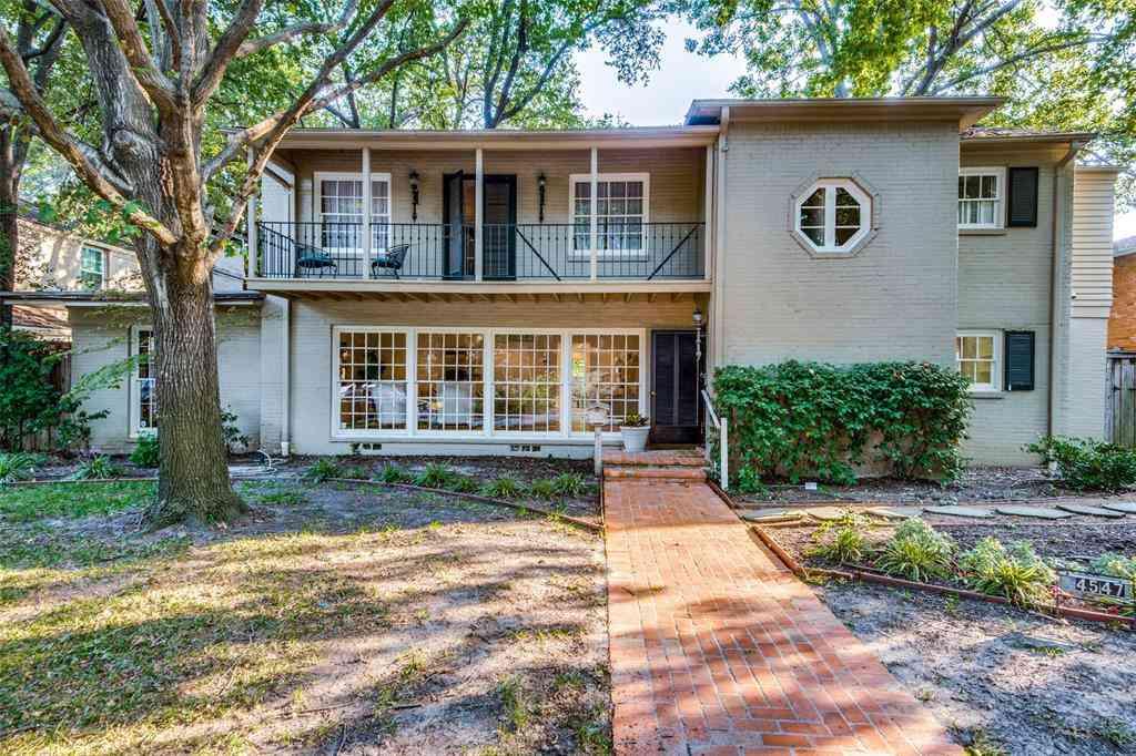 4549 Westway Avenue, Highland Park, TX, 75205,