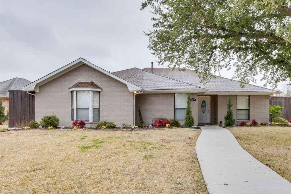 5019 Highridge Drive, Sachse, TX, 75048,