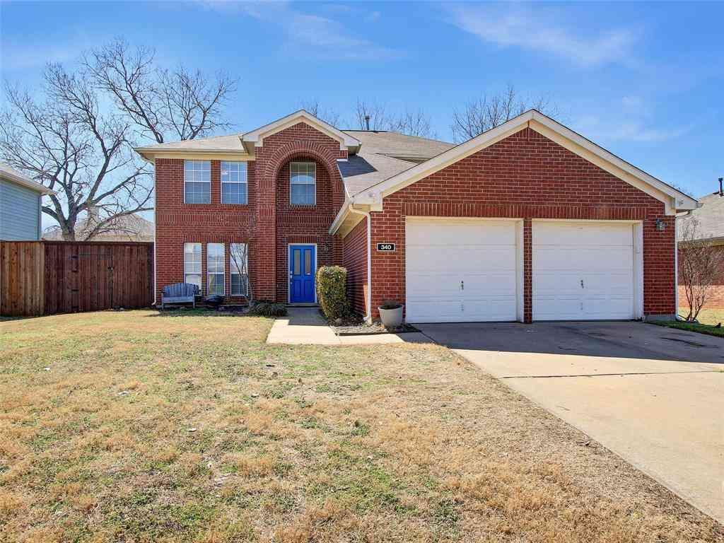 340 Stately Oak Lane, Lake Dallas, TX, 75065,