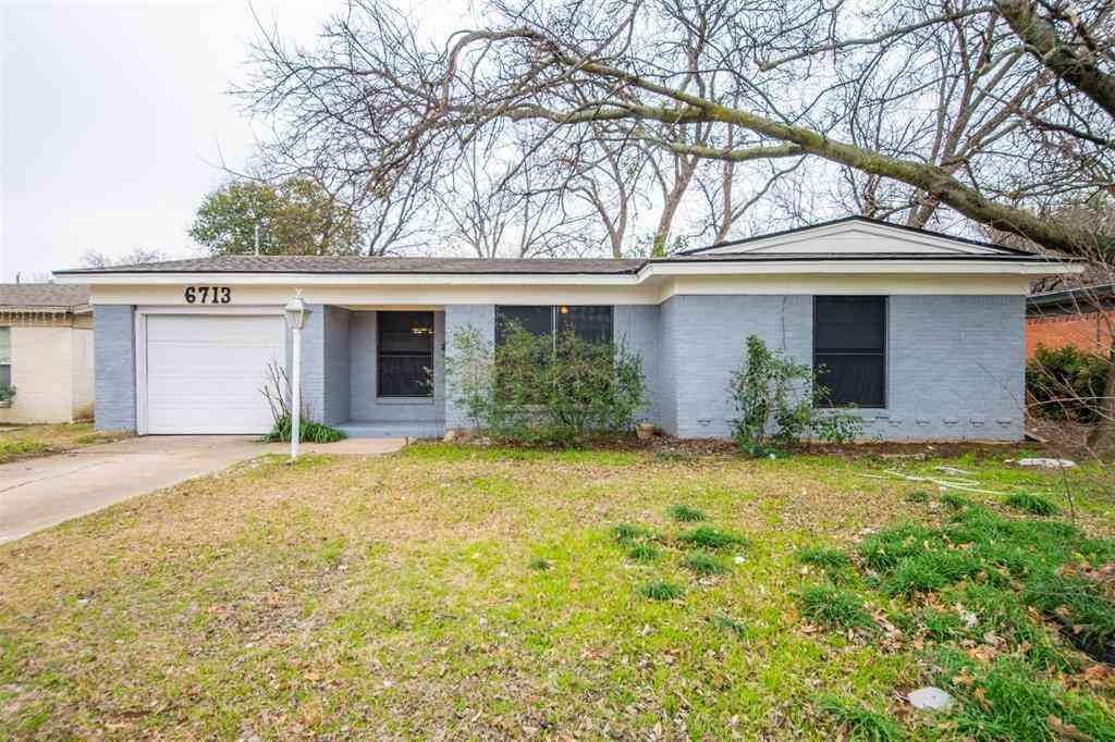 6713 Sheridan Road, Fort Worth, TX, 76134,