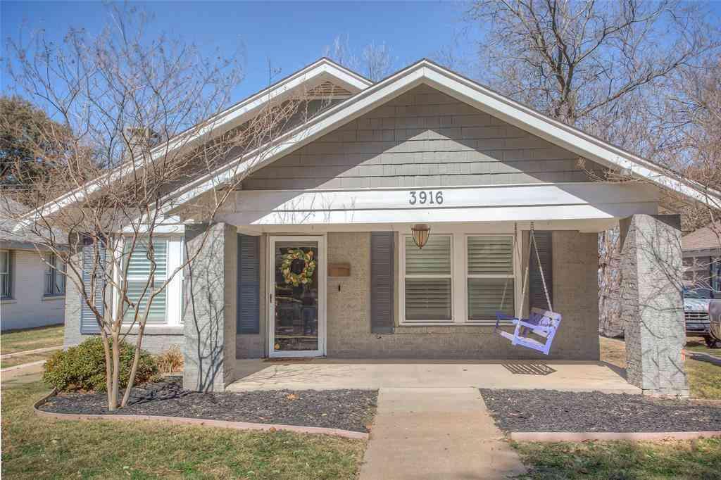3916 Mattison Avenue, Fort Worth, TX, 76107,