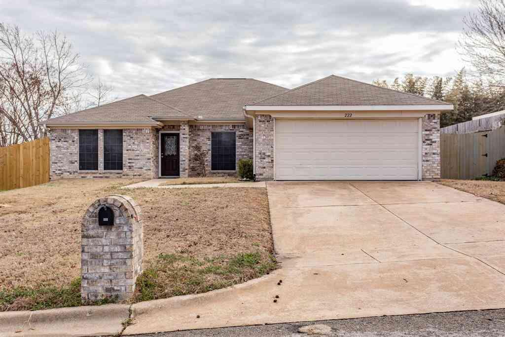 222 Lancelot Drive, Weatherford, TX, 76086,