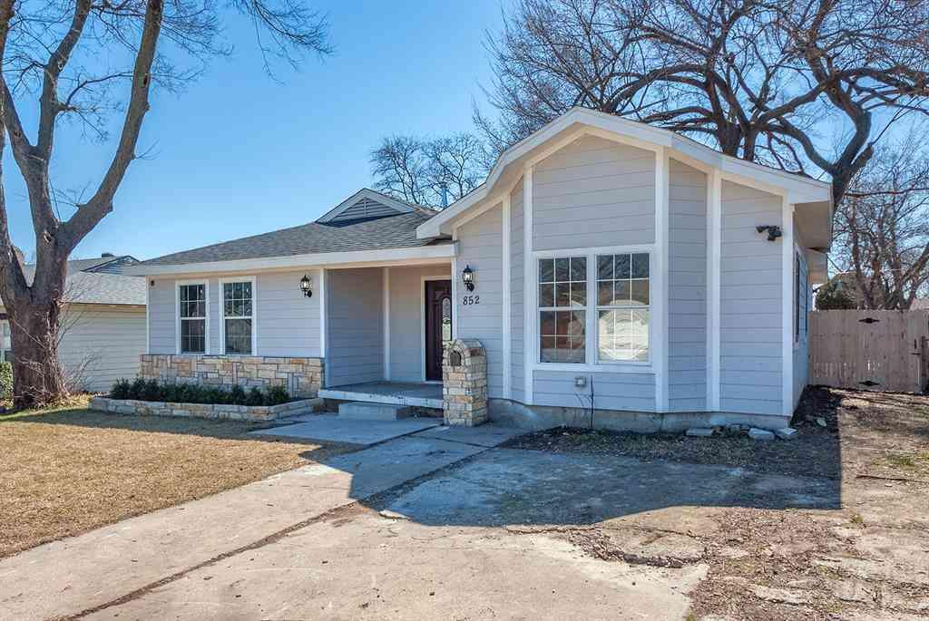 852 Crockett Street, Garland, TX, 75040,