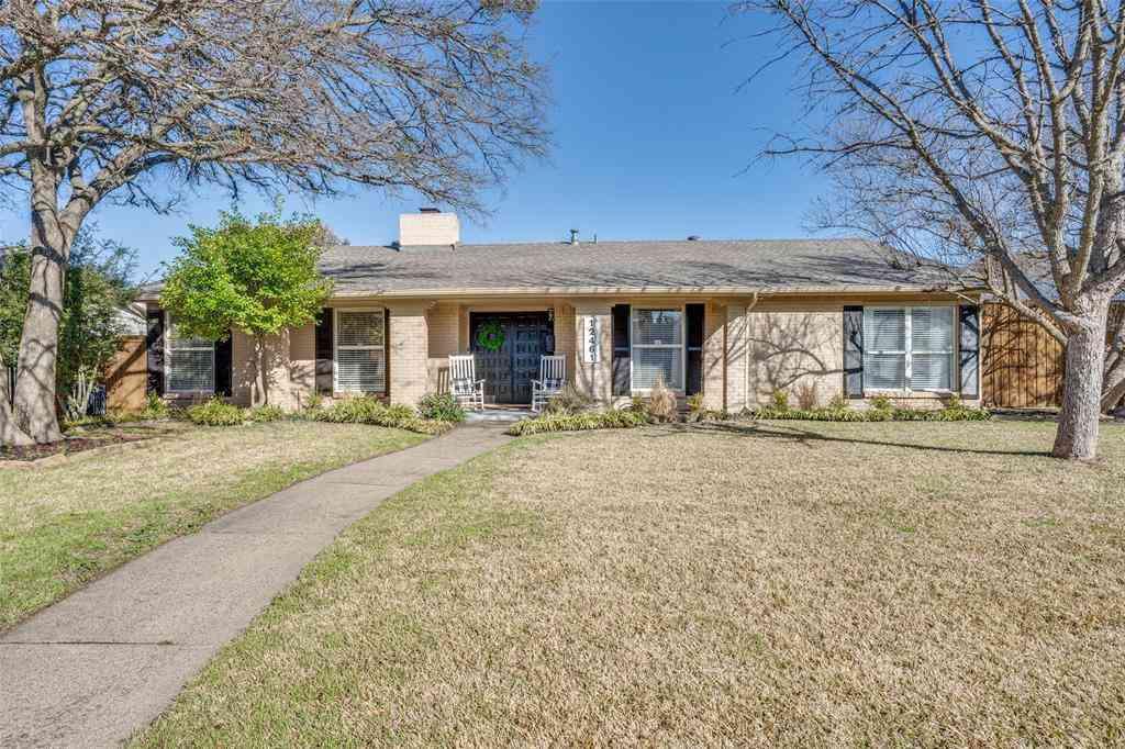 12461 High Meadow Drive, Dallas, TX, 75244,