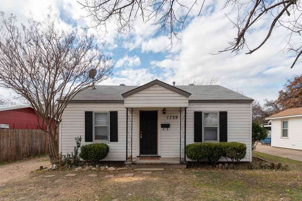 1729 Oakwood Street, Haltom City, TX, 76117,
