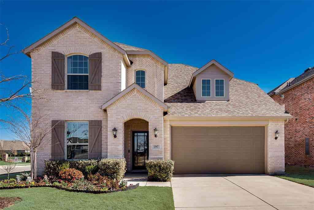 1597 Wyler Drive, Forney, TX, 75126,
