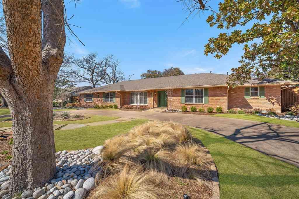 7121 Midcrest Drive, Dallas, TX, 75254,