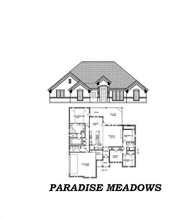 1103 Paradise Parkway, Poolville, TX, 76487,