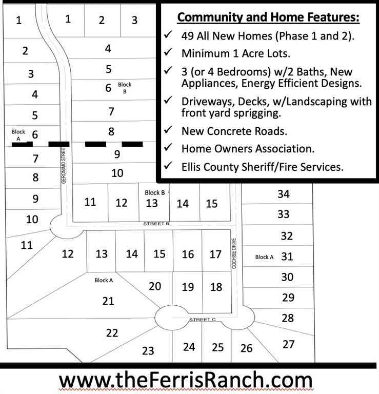 210 Geronimo Street, Ferris, TX, 75125,