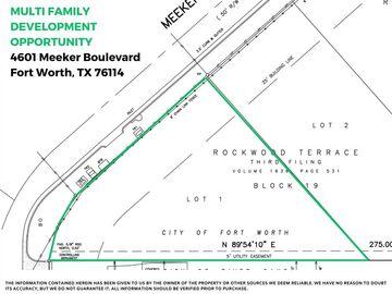 4601 Meeker Boulevard, Fort Worth, TX, 76114,